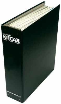 Complete Kit Car Binder - 12 Issues