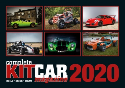 2020 Complete Kit Car Calendar